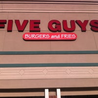 Photo taken at Five Guys by Andy W. on 4/6/2013