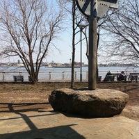 Photo taken at Stuyvesant Cove Park by Bill B. on 4/10/2013