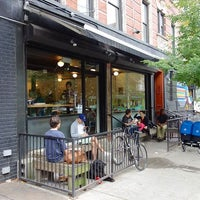 Photo taken at Ninth Street Espresso by Project Latte: a NYC cafe culture guide on 11/14/2012