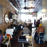 Снимок сделан в Sit & Wonder пользователем Project Latte: a NYC cafe culture guide 11/14/2012