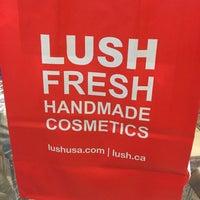 Photo taken at LUSH Fresh Handmade Cosmetics by David N. on 12/14/2015