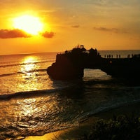 Photo taken at Tanah Lot Temple by jesse c. on 11/13/2012