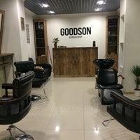 5/27/2014 tarihinde Daria K.ziyaretçi tarafından Goodson barbershop'de çekilen fotoğraf