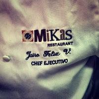Photo taken at Mikas by John S. on 5/25/2013