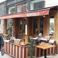 Photo taken at Cafe Ronda by YourNYAgent on 10/23/2013
