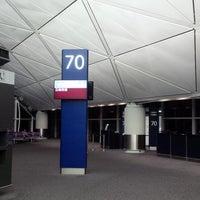 Photo taken at Gate 70 by Sean A. on 5/9/2013