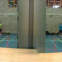 Photo taken at Gemeentelijke Sporthal by Jeroen on 9/15/2012