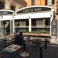 Photo taken at Cafè de Paris by Gky on 9/28/2016