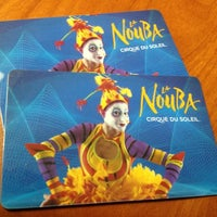 Photo taken at La Nouba by Cirque du Soleil by Raphael J. on 11/14/2012