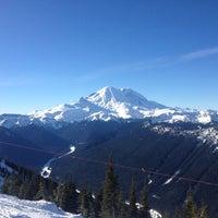 Photo taken at Crystal Mountain Ski Area by Ali S. on 1/20/2013