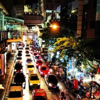 Photo taken at Silom Road by Teh K. on 12/12/2012