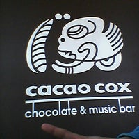 Photo taken at Cacao Cox by Alisa D. on 4/18/2013