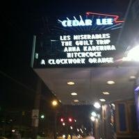 Photo taken at Cedar Lee Theatre by Aleena on 12/31/2012