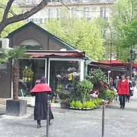 Photo taken at Place des Ternes by Marina T. on 4/23/2013