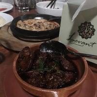 Photo taken at Levant Restaurant by Abdulrahman A. on 9/1/2016