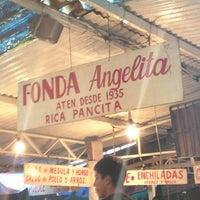 Photo taken at Fonda Angelita by Carlos J. on 3/31/2013