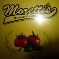 Photo taken at Moretti's Ristorante & Pizzeria by Elvira G. on 5/10/2013