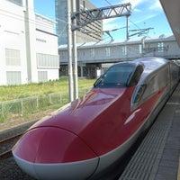 Photo taken at Akita Station by Hidetaka M. on 7/20/2013