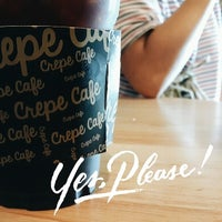 Photo taken at Crepe Cafe by Passapong L. on 7/26/2014