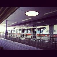 Photo taken at Monorail Orange by Melanie W. on 11/11/2012