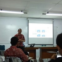 Photo taken at Universitas Prof. Dr. Moestopo (Beragama) by Dimas F. on 10/30/2014