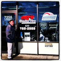 Photo taken at Quality Tire & Auto, Inc. by Helen M. on 5/2/2014