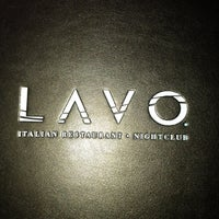 Photo taken at Lavo by Viviana V. on 10/7/2012
