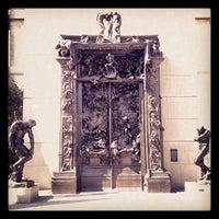 Photo taken at Rodin Sculpture Garden by Randy Y. on 5/25/2013