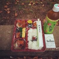 Photo taken at 石田小中学校 グラウンド by Katsuya M. on 9/23/2014