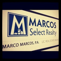 Photo taken at Marcos Select Realty by Marco M. on 10/31/2012