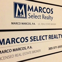 Photo taken at Marcos Select Realty by Marco M. on 3/13/2013