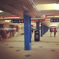 Photo taken at MTA Subway - 59th St/Columbus Circle (A/B/C/D/1) by darnisha b. on 10/28/2012
