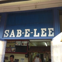 "Photo taken at The Original Sab-E-Lee by nam H""2""O . on 7/17/2013"