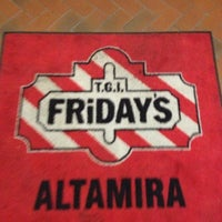 Photo taken at T.G.I. Friday's by Alexander V. on 11/30/2012