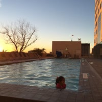 Photo taken at Pool Deck at Grand Hyatt by TJ C. on 12/25/2014
