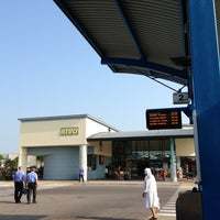 Photo taken at Stazione ATVO - Bus Station by Matthias C. on 7/27/2013