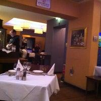 Photo taken at Pyxida Fish Tavern by Panayiotis P. on 10/27/2012