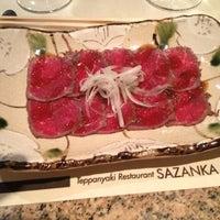 Photo taken at Teppanyaki Restaurant Sazanka by Danya A. on 9/24/2012
