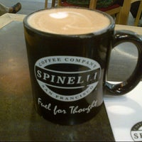 Photo taken at Spinelli Coffee by Jane on 3/24/2013