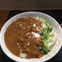Photo taken at うどん のぶ by はむとび on 12/8/2017