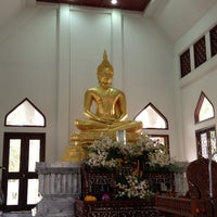 Photo taken at Wat Nyanavesakavan by Jajaa on 2/10/2013