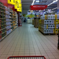 Photo taken at Carrefour by Theodor A. on 1/4/2013