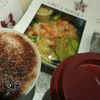 Photo taken at Pret A Manger by Don S. on 10/28/2015