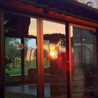 Photo taken at Relais Villa Acquaviva by Vizio on 10/24/2012
