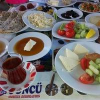 Das Foto wurde bei Köyüm Bahçe Restaurant von Atilla Y. am 11/23/2014 aufgenommen