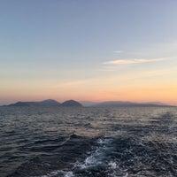 Photo taken at Port of Vasiliki by Tatiana V. on 10/11/2018