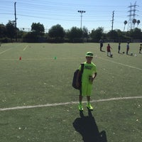 Photo taken at Griffith Park - Artificial Turf Soccer Field by Rick S. on 6/20/2016