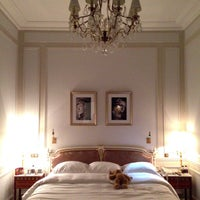 Photo taken at Le Meurice by Big R. on 8/12/2013