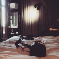 Photo taken at Hotel Les Nuits by Frederik H. on 1/14/2015