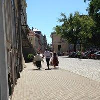 Photo taken at Jēkaba laukums by Oksana K. on 7/7/2013